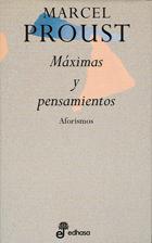 Máximas y pensamientos - Proust Marcel