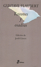 Razones y osadias - Flaubert Gustave