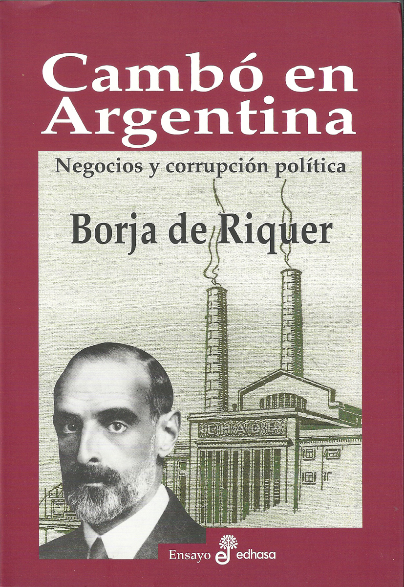 Cambó en Argentina  - de Riquer Borja