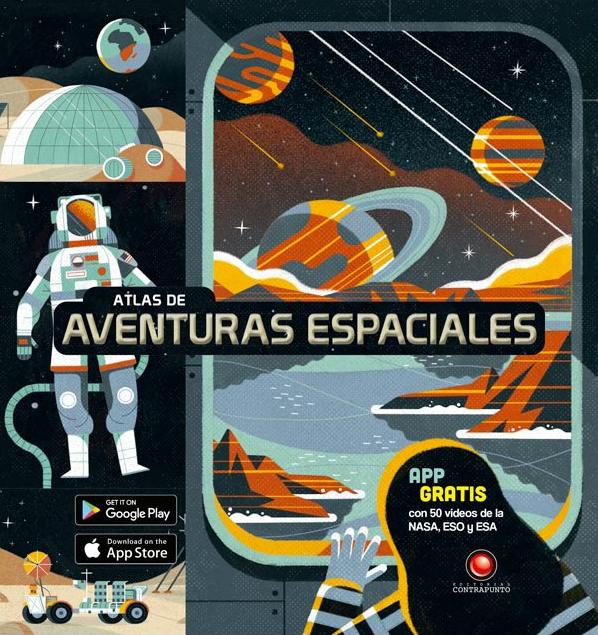 Atlas de aventuras espaciales -  Sin Autor