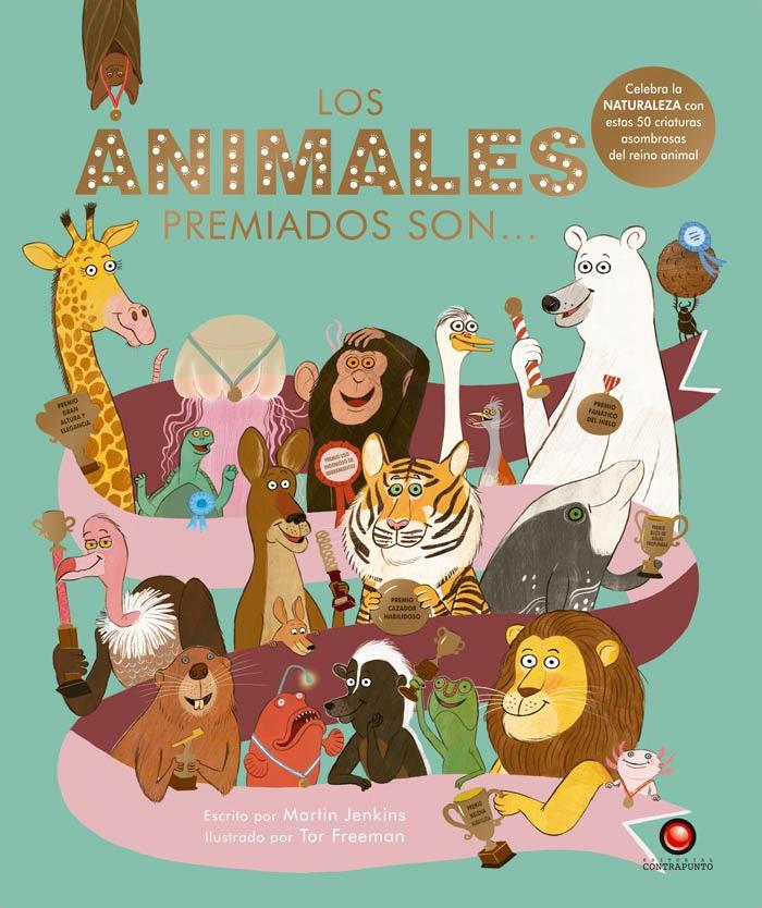 Los animales premiados son - Jenkins Martin