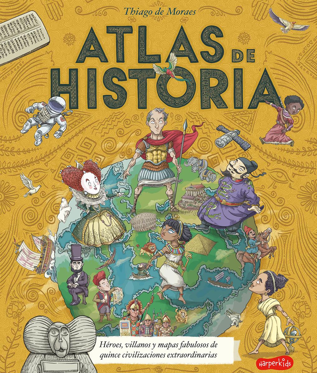Atlas de historia - de Moraes Thiago