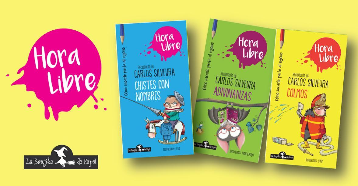Libros de Brujita de papel chistes adivinanzas y colmos para chicos. - Miriam Molero